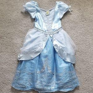 Disney's Cinderella Dress; Sz Small, 5-6